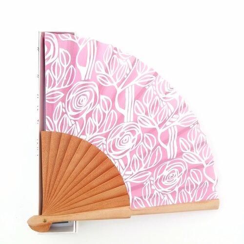 ventall rosa esgrafiat disseny catala popelin barcelona online