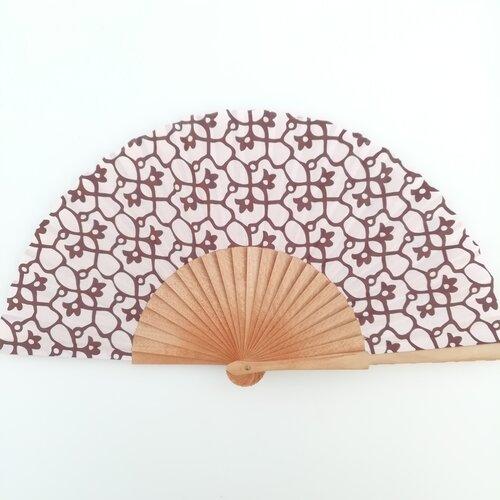 ventall rosa jujol mosaic regal dona popelin barcelona catalunya artesania