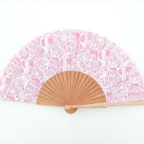 ventall rosa regal esgrafiat modernista popelin barcelona online botiga