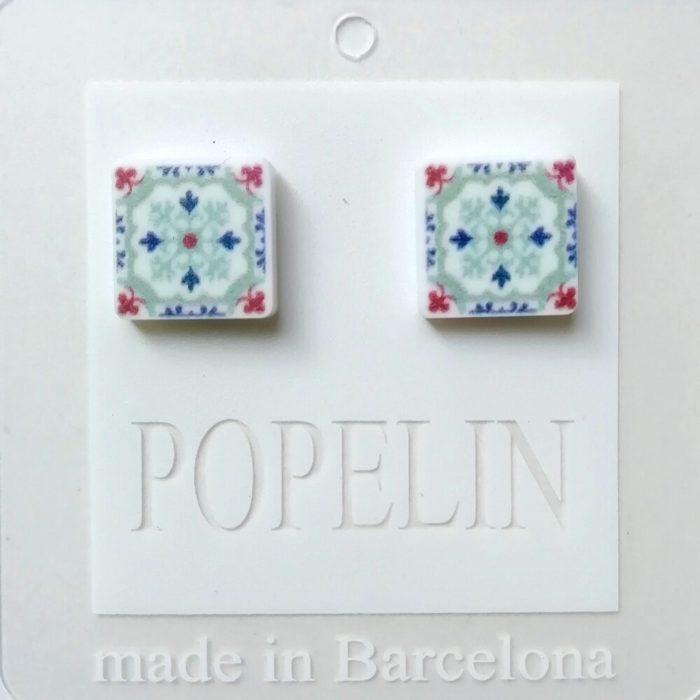 arrecades mosaic A hidrahulic disseny catala popelin barcelona