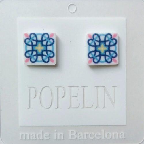 arrecades mosaic C hidrahulic regal dona popelin barcelona